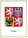 Obraz Velký státní znak v rámu